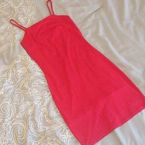 Joe&Elle red mini dress NWOT